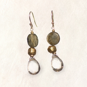 Avindy Labradorite Drop Earrings