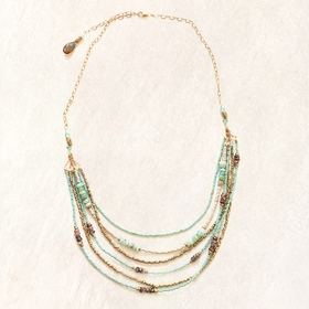 Avindy Opal Shimmer Necklace