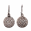 Avindy Pave Diamond Circle Earrings