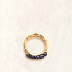 Avindy Sapphire Abacus Ring