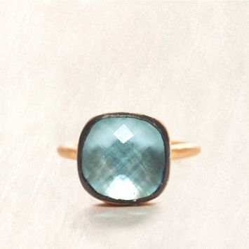 Avindy Sky Blue Topaz Ring