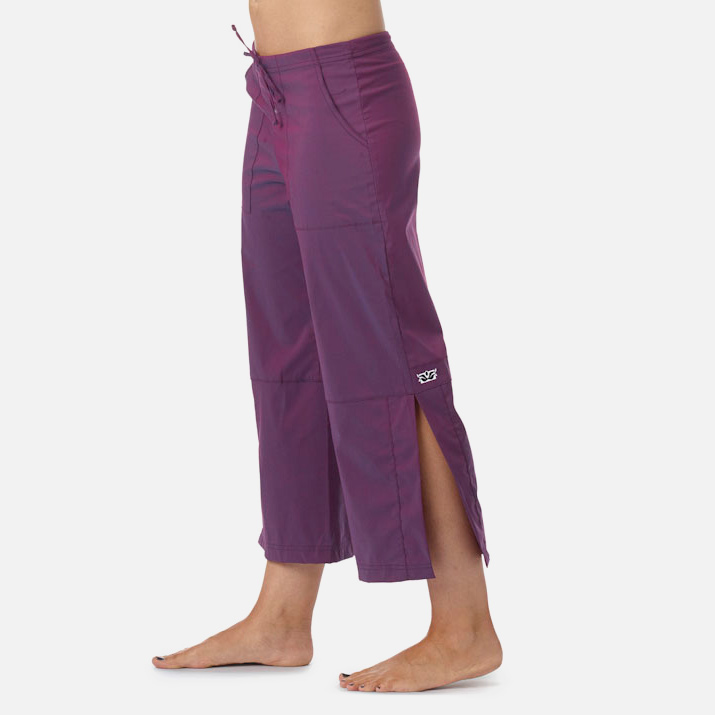 3b6cefe9e6 Be Present Lotus Mobility Pant (side slits) Womens Apparel at Vickerey