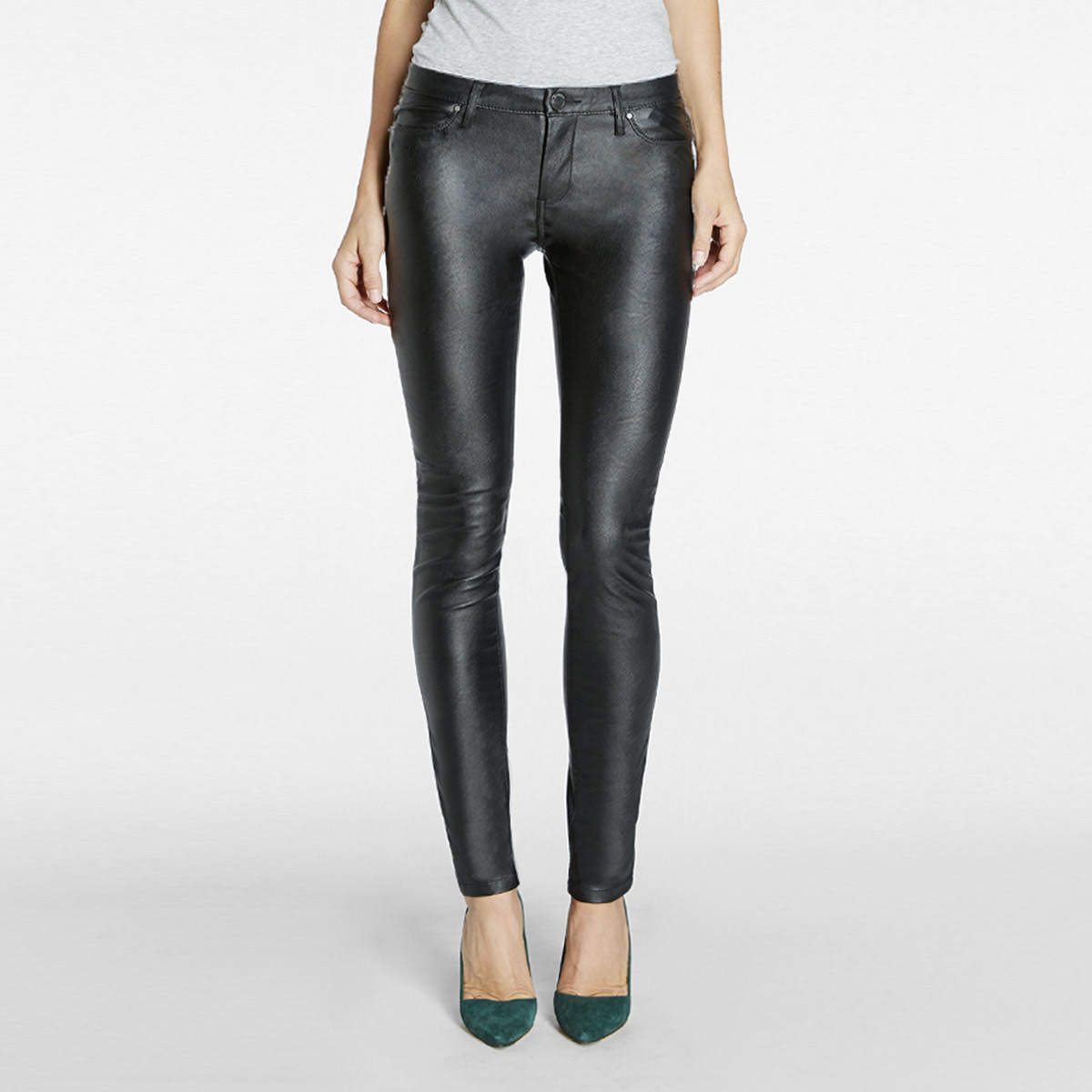 Blanknyc Faux Leather Skinny Pant Womens Apparel At Vickerey