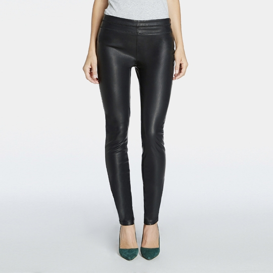 BlankNYC Faux Leather Legging ( Black )