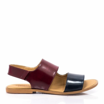 Bourgeois Boheme Emma Sandal in Bordeaux/Navy