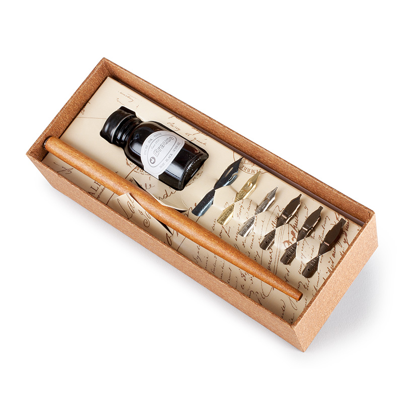 Brause calligraphy set eco paper at vickerey