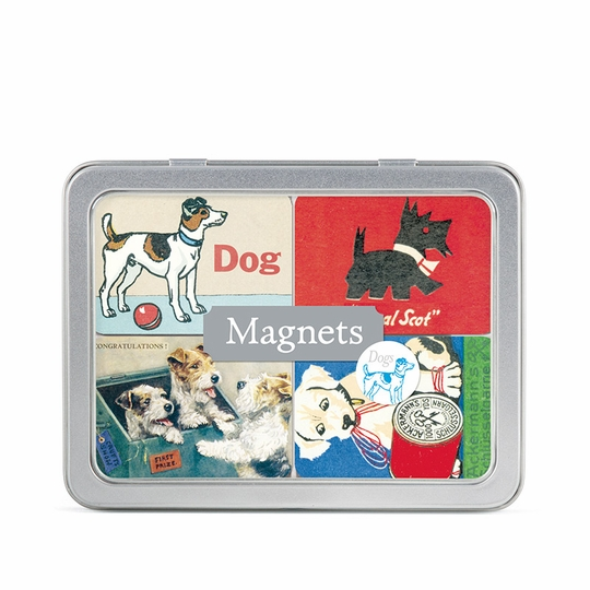 Cavallini Dog Magnets (Set of 24)
