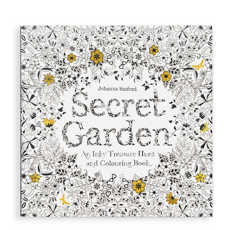 Secret Garden Coloring Book Eco Paper at Vickerey