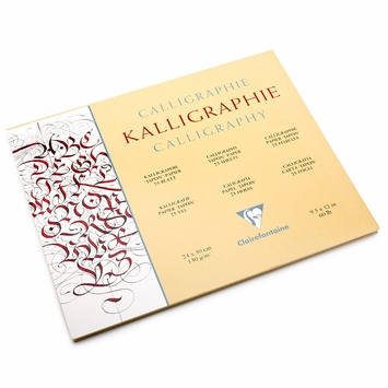 Clairefontaine Calligraphy Pad (9.5 x 12)