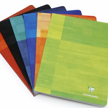 Clairefontaine Classic A4 Side Staple Bound Notebook (8.25 x 11.75) (Set of 3) in French Ruled (lined pages) [63161]