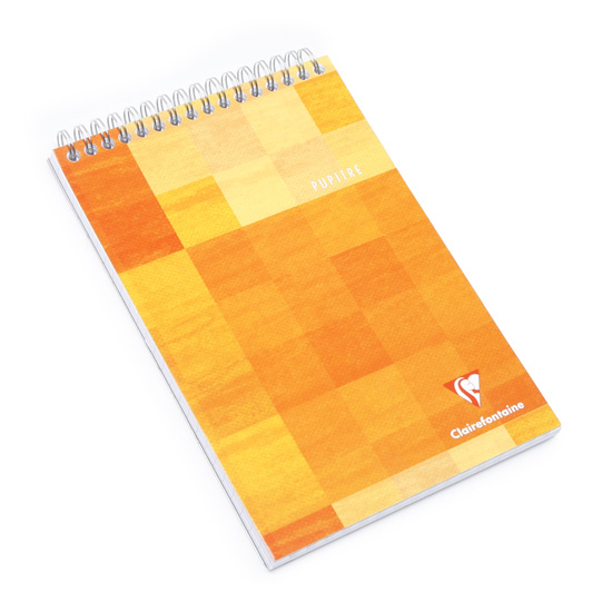 Clairefontaine Classic A4 Top Spiral Bound Notepad (8.5 X