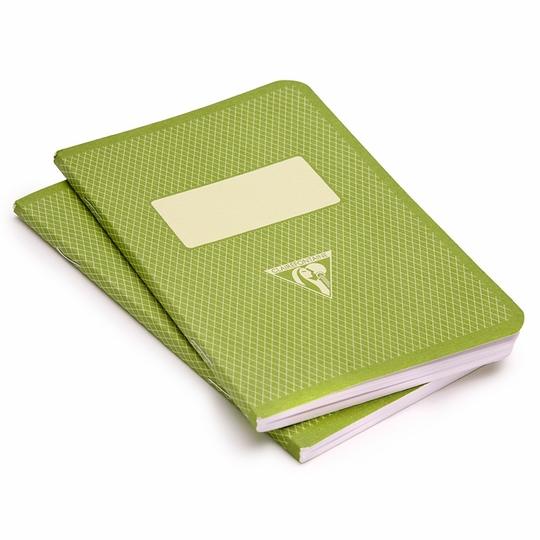 Clairefontaine Large Vintage Notebook Set (5.75 x 8.25) ( Green )