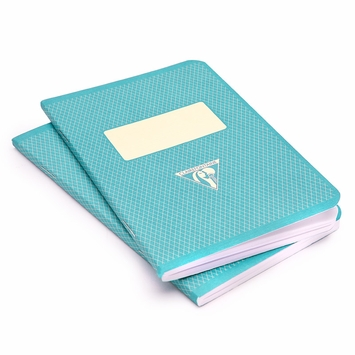 Clairefontaine Large Vintage Notebook (1951 Series) (5.75 x 8.25) in Turquoise