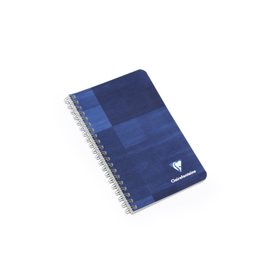 clairefontaine pocket side spiral bound notebook  multiple