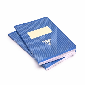 Clairefontaine Pocket Vintage Notebooks (3.5 x 5.5) in Blue