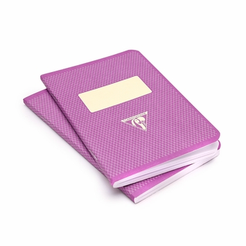 Clairefontaine Pocket Vintage Notebooks (3.5 x 5.5) in Pink