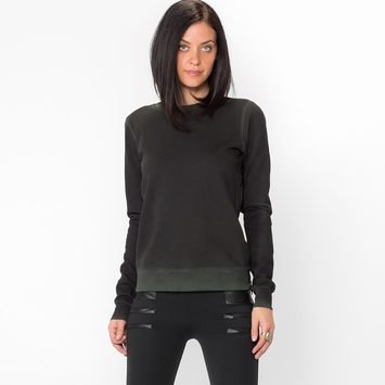 Cotton Citizen Side Zip Sweatshirt in Army