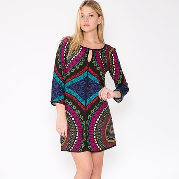 Ella Moss Aurora Print Dress