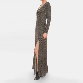 Ella Moss Nairobi Long Sleeve Maxi Dress in Black