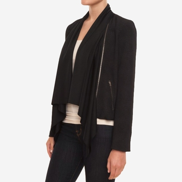 Ella Moss Serena Jacket in Black
