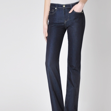 Fidelity Denim Lily Boot Cut Jean in Viper Rinse Blue