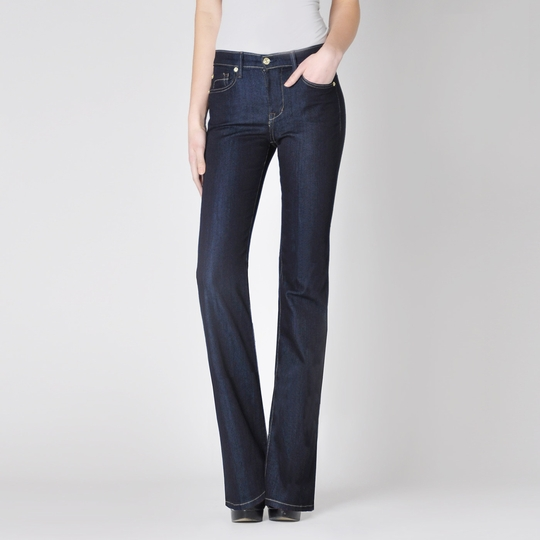 Fidelity Denim Lily Boot Cut Jean ( Viper Rinse Blue )