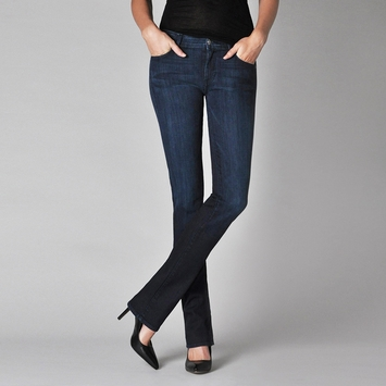 Fidelity Denim Mid Rise Jean in Eclipse Blue