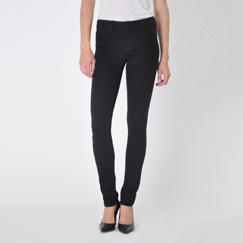 Fidelity Denim Black Stevie Jean in Jett Black