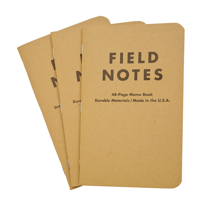Field Notes Pocket Plain Notebook Set Of   X  Eco Paper