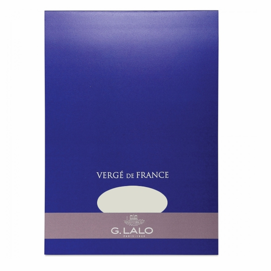 G. Lalo Verge De France Large Tablet (8.25 x 11.75) ( Ivory )