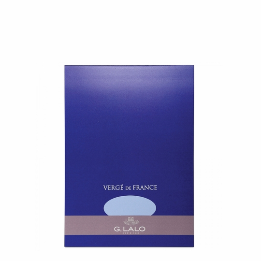 G. Lalo Verge De France Medium Tablet (5.75 x 8.25) ( Blue )