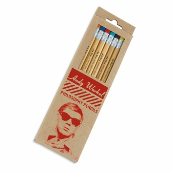 Galison Pop Culture Pencil Sets in Andy Warhol