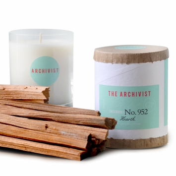 Greenmarket Purveying Co. The Archivist Vegetable Soy Candle in No. 952 Hearth