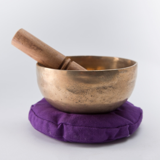 Hand-hammered Singing Bowl Set