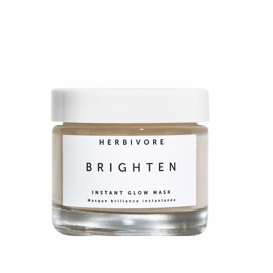 Herbivore Botanicals Brighten Pineapple + Gemstone Instant Glow Mask