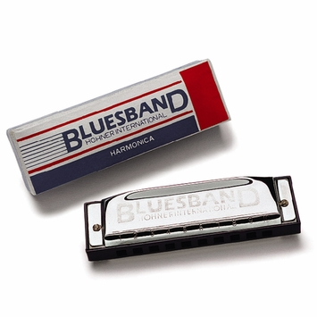 Hohner Blues Band Harmonica in C