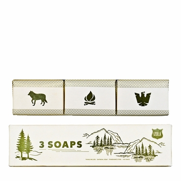 Izola Triple Milled Soap Set in Scout