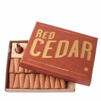 Izola Woodsy Incense in Red Cedar