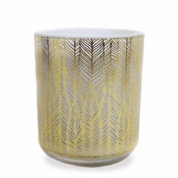 Jordan Carlyle White Candle in Bodrum (Pomegranate and Patchouli)