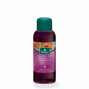 Kneipp Herbal Bath Oils in Red Poppy & Hemp (Pure Bliss)
