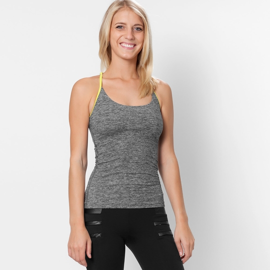 Koral Activewear Paradox Tank ( Heather/Spirit Green )
