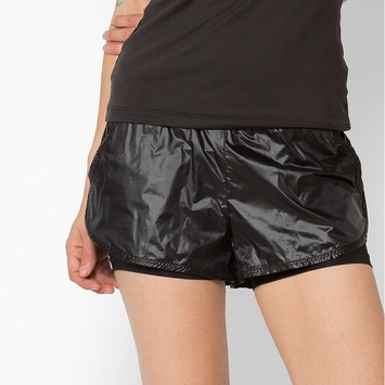 Koral Scout Double Layer Short in Black