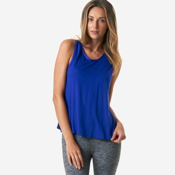 Koral Web Sleeveless Top in Sapphire