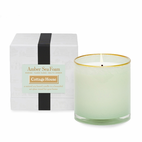 Lafco House and Home Candle ( Cottage House (Amber Sea Foam) )