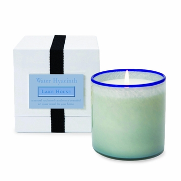 Lafco House and Home Candle in Lake House (Water Hyacinth)