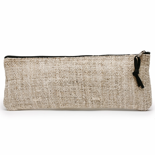 Lama Li Eco Hemp Brush Bag ( Natural )