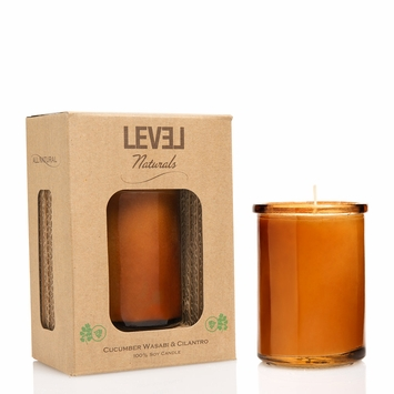 Level Naturals Eco-Mod Candle in Cucumber Wasabi