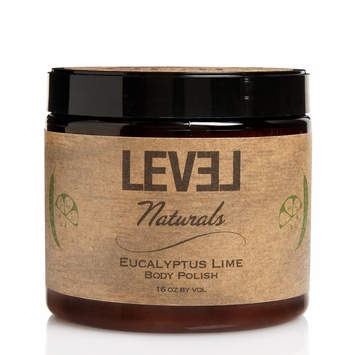 Level Naturals Lustrous Body Polish in Eucalyptus Lime