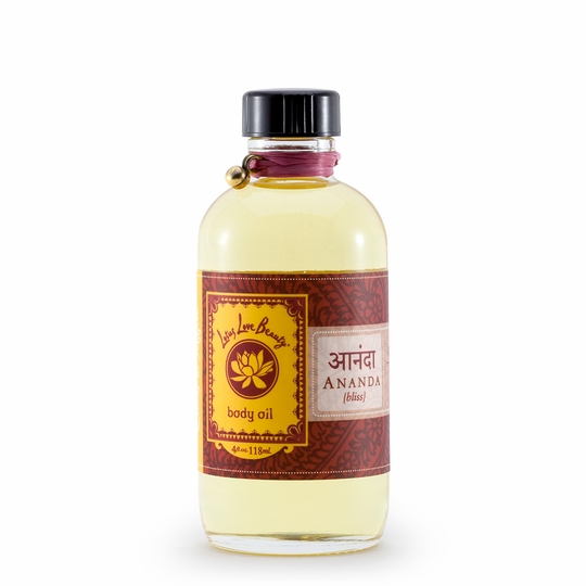 Lotus Love Beauty Bath and Body Oil ( Ananda (Citrus & Saffron) )