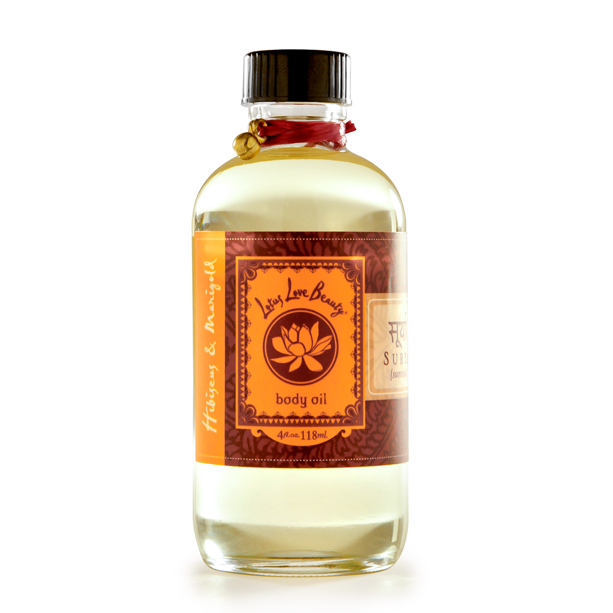 Lotus Love Beauty Bath And Body Oil Surya Hibiscus Marigold